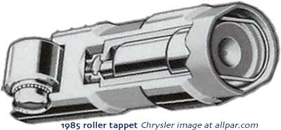 LA - Chrysler small block V8 engines
