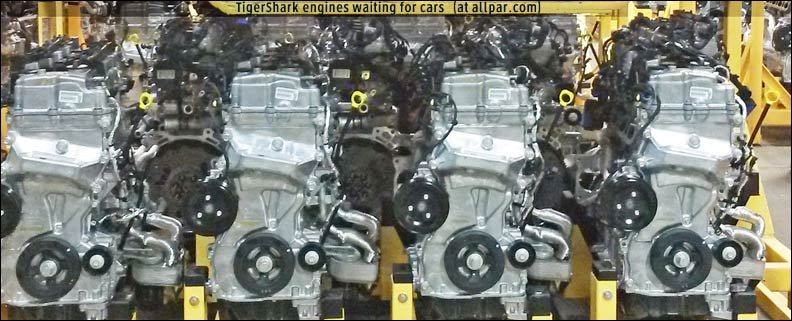 Chrysler Tiger Shark and World Gas Engines 18, 20, 24