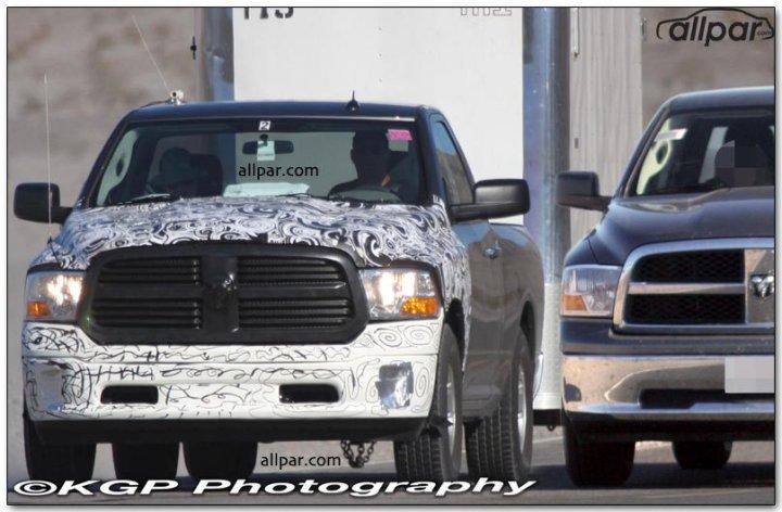 2013 Ram 1500 spy shot