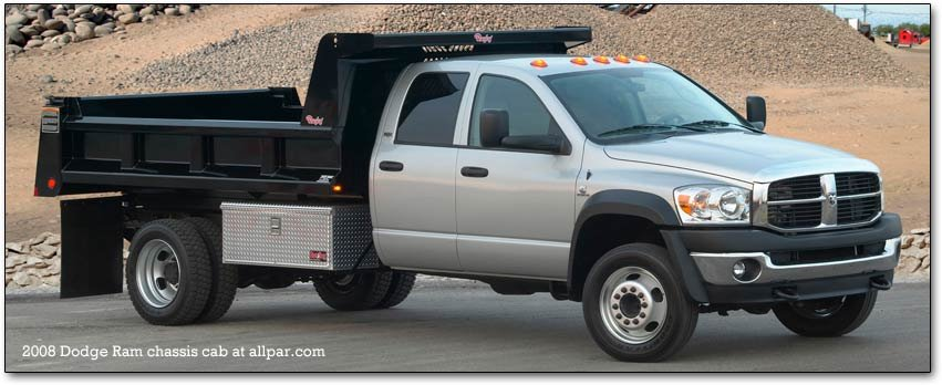2008-2010 Dodge Ram 4500 and 5500 heavy duty chassis cabs