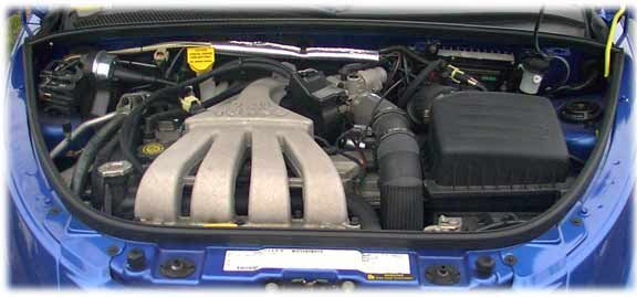 The 24 liter four-cylinder Chrysler-Dodge engine