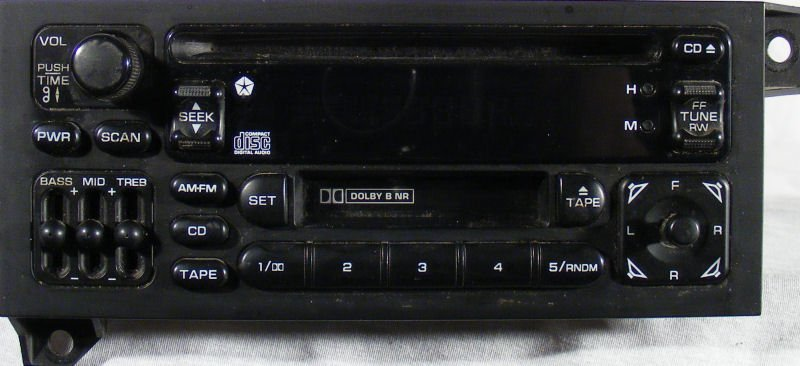 Fixing the original Chrysler CD-Cassette combo decks full guide