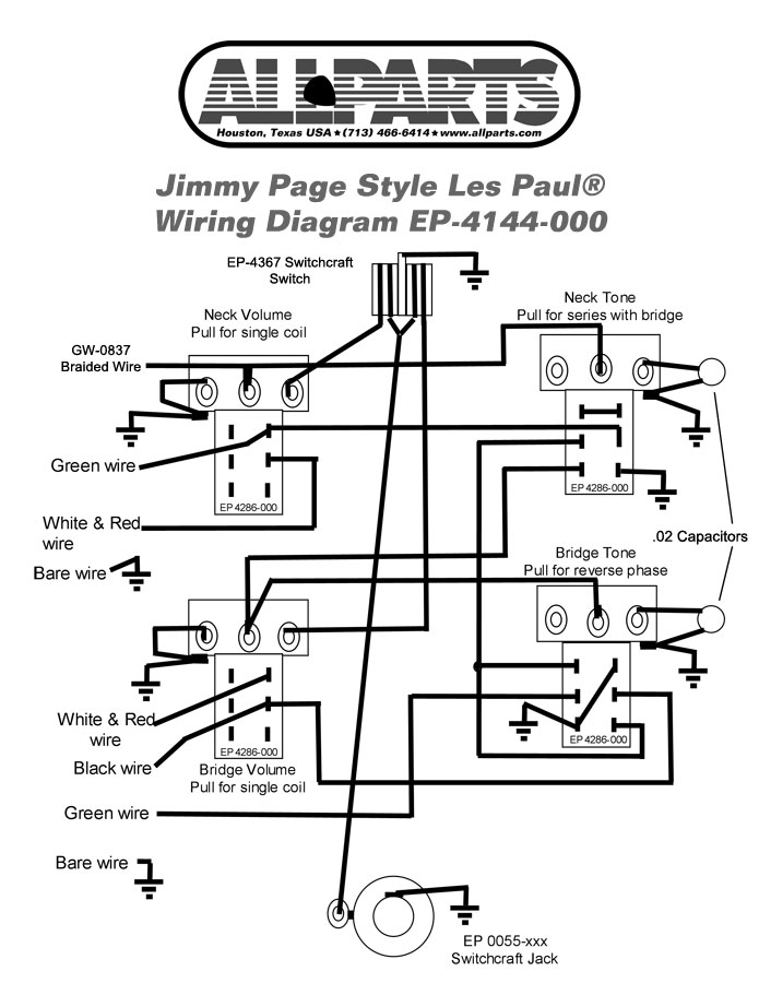 epiphone dot wiring harness