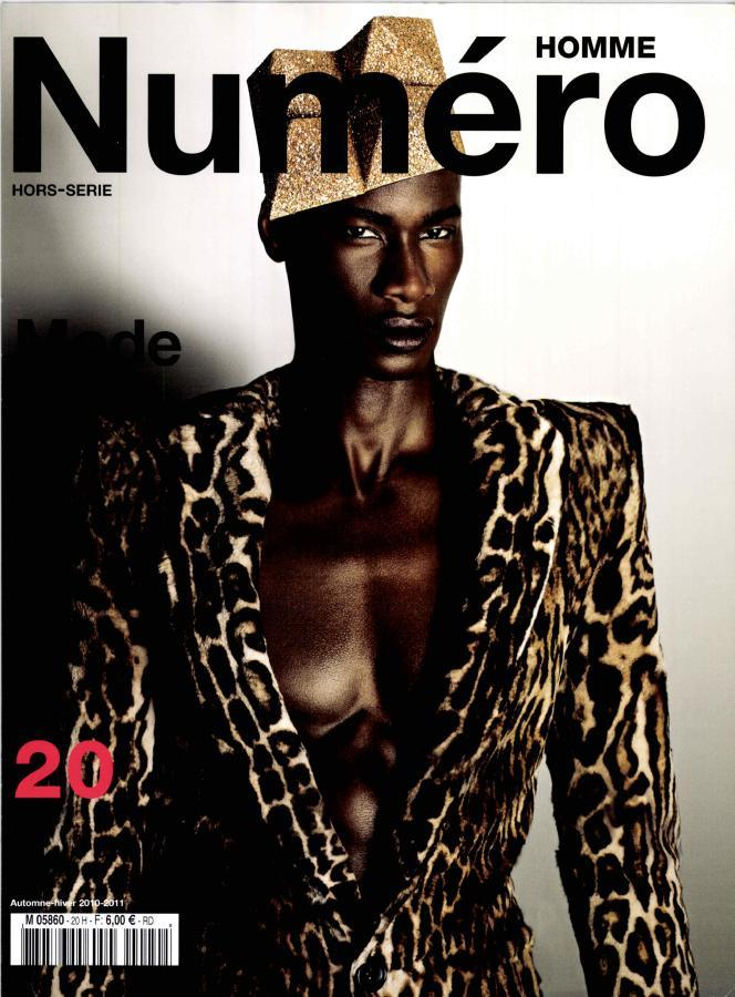 David Agbodji for Numero Homme Fall 2010