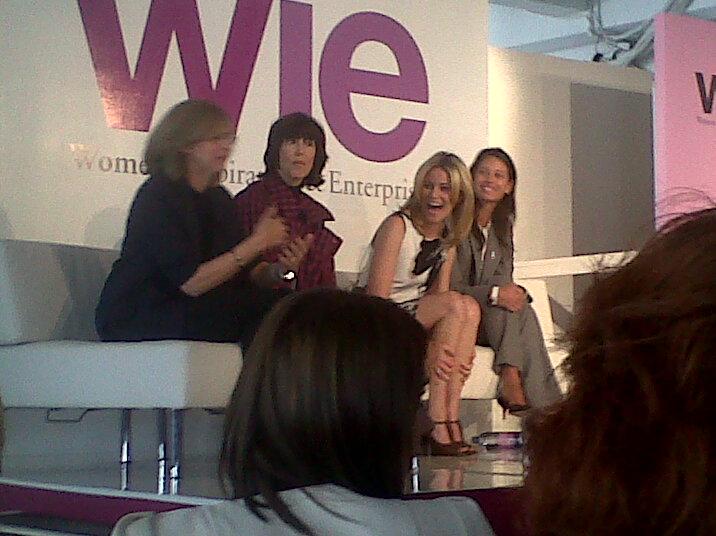 Nancy Meyers, Nora Ephron, Elizabeth Banks, Christy Turlington at Wie Symposium