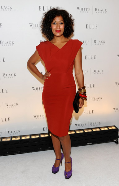 Tracee Ellis Ross at the 25th Anniversary of ELLE and the launch of ELLEments of Personal Style with White House Black Market at MOMA on October 26, 2010 in New York Cit