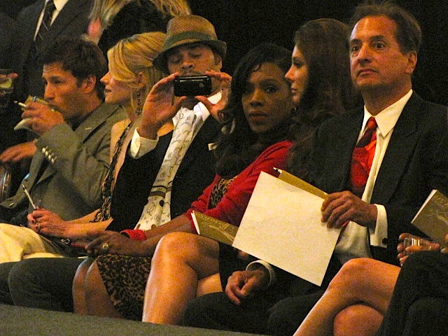 Actress Sheryl Lee Ralph sits front row at the Renato Balestra fashion debut in Los Angeles on April 14.