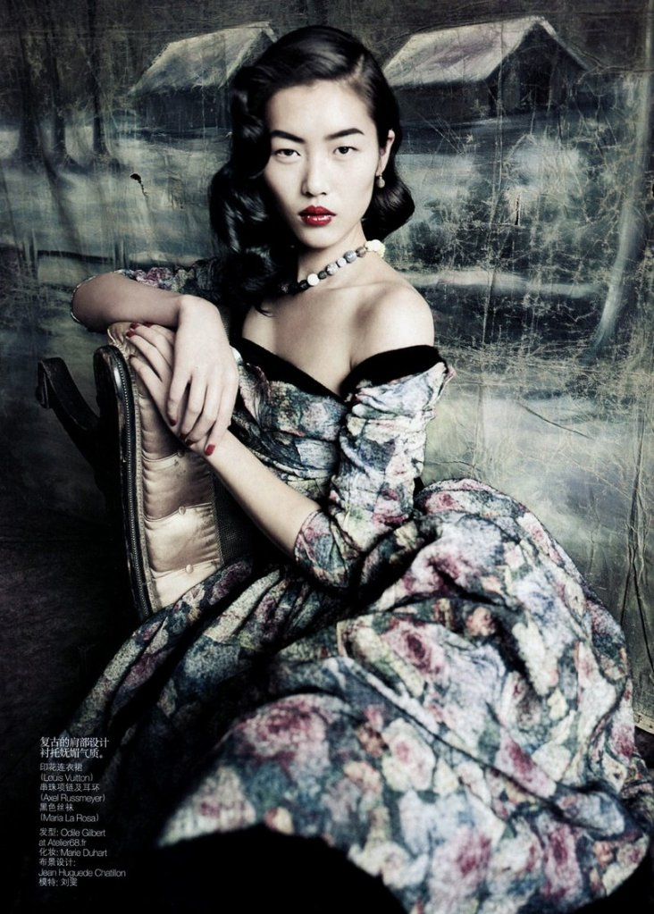 Liu Wen for Vogue China
