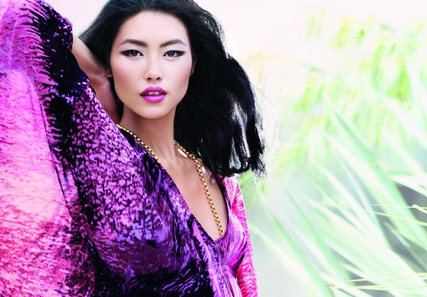 Liu Wen for Estee Lauder