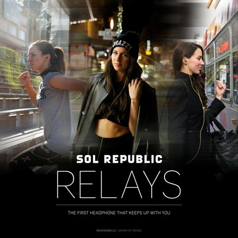 SOL REPUBLIC RELAYS (Photo Courtesy of SOL REPUBLIC)