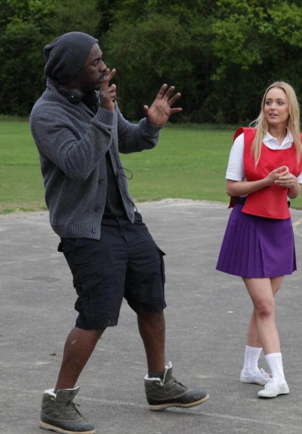 Idris Elba Directing Short Film for Pepsi's Beats of the Beautiful Game (Photo courtesy of Ketchum Sports & Entertainment)