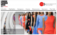 London Fashion Week (Image from londonfashionweek.co.uk)