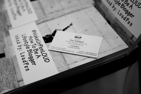 #MakeUrPenLOUD: How To Be A Lifestyle Blogger at Flavor's Night Out (Photo by Katherine Angelique)