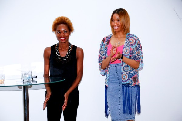Pen and Cacha` at Flavor's Night Out (Photo by Katherine Angelique)