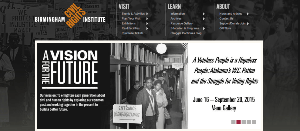 Birmingham Civil Rights Museum (Image from bcri.org)