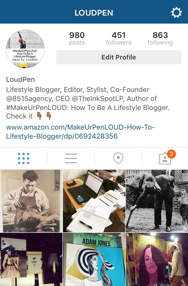 My Instagram Account (Managed by 8515)