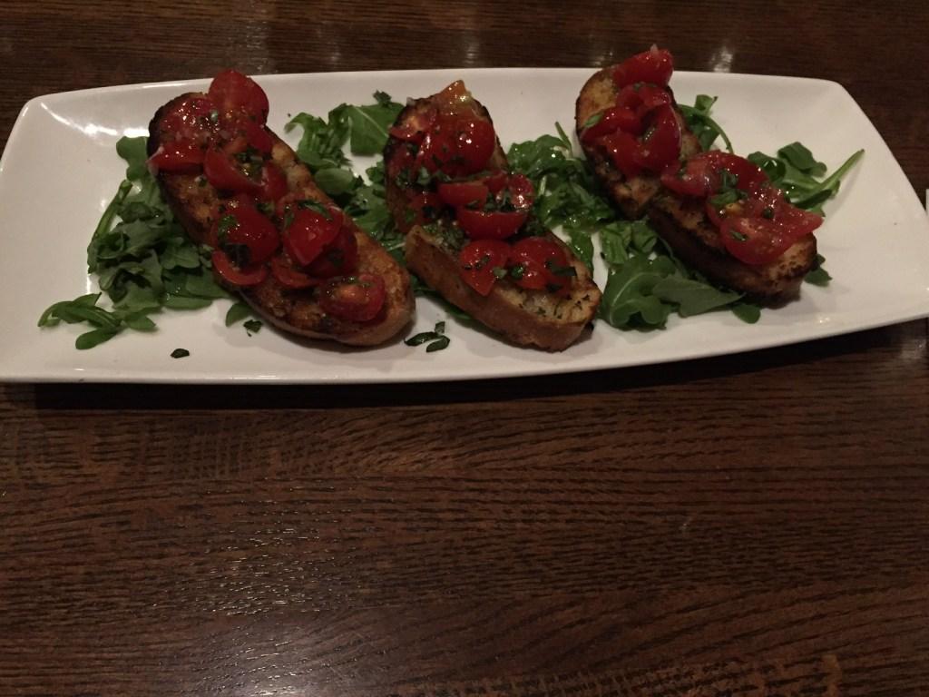 Classic Tomato Bruschetta at Cooper's Hawk (Image by LoudPen)