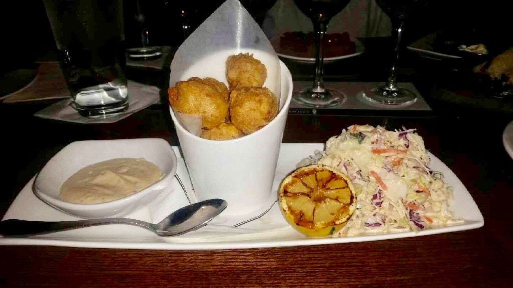 Crab Beignets at Cooper's Hawk (Image by Chris Francois)