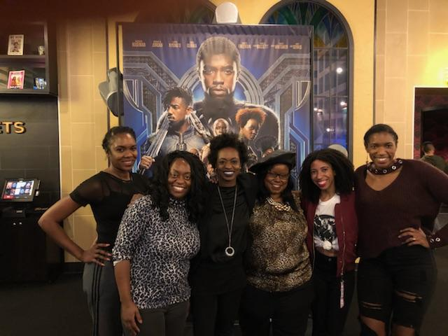 Pen's Flicks: Black Panther #BadPennies: Tiffany Giles, Melissa Necey, LoudPen, Michelle Nelson, Milana Davis, and Taylor Mosley