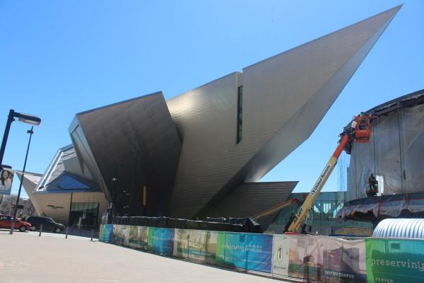 The Denver Art Museum (Image by LoudPen)