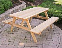 Cedar Picnic Tables   Red Cedar Picnic Table Options