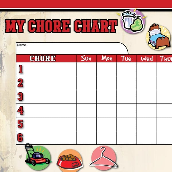 Kids Chore Chart - All Pro Dad  All Pro Dad