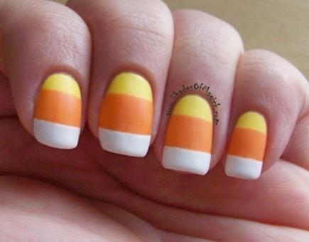 Amazing 5 Easy Halloween Nail Designs Allsalonpricescom Usefulresults