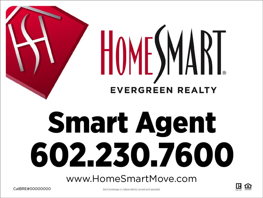 HomeSmart Evergreen  Evergreen for sale signs - sale signs