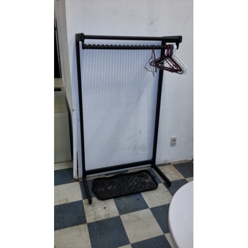 Black Standing Coat Storage Rack 62x36quot Allsoldca Buy