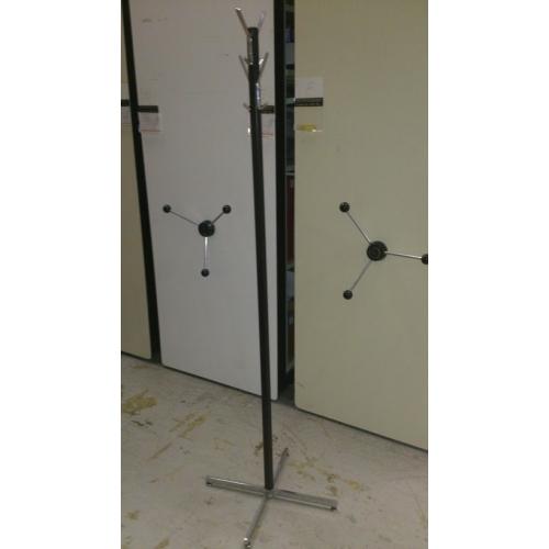 Black Steel 8 Hook Coat Rack Tree Allsoldca Buy
