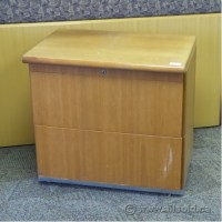 """Maple 30"""" 2 Drawer Lateral File Cabinet, Locking - Allsold ..."""