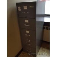 Grey 5 Drawer Vertical Legal File Cabinet - Allsold.ca ...