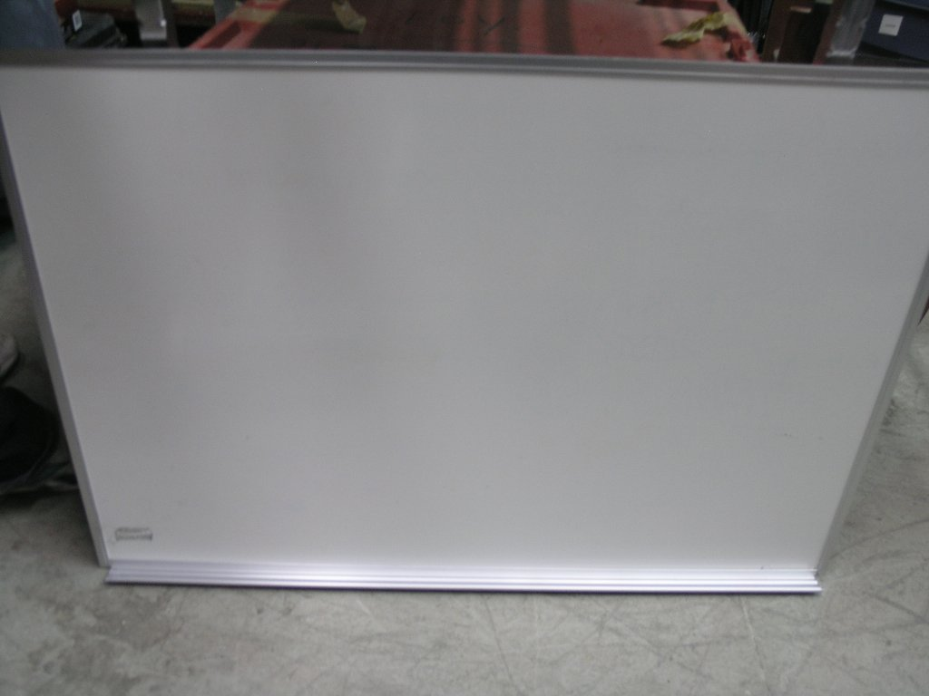 Whiteboard 36 X 48 Silver Frame Brush Holder Allsoldca