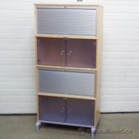 IKEA Effektiv Birch Multi Compartment Roll Front Storage ...