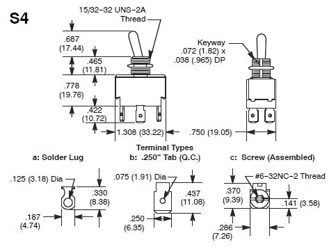 Spdt Center Off Switch Wiring Diagram - Example Electrical Wiring