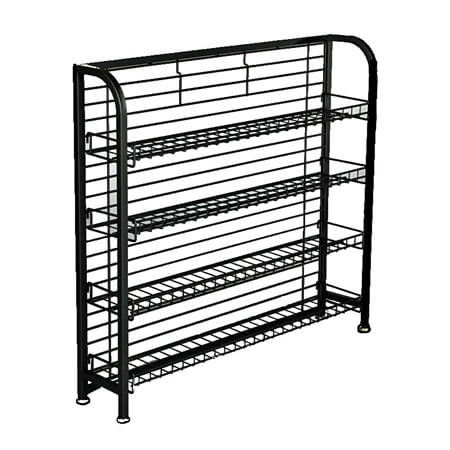4 Shelf Under Counter Rack Wire Chip Rack Snack Rack