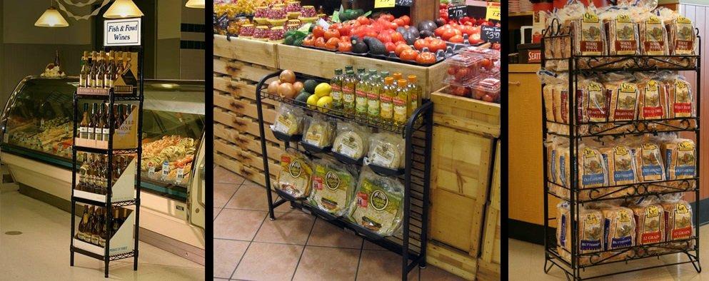 Wire Display Racks Retail Display Shelves Merchandisers