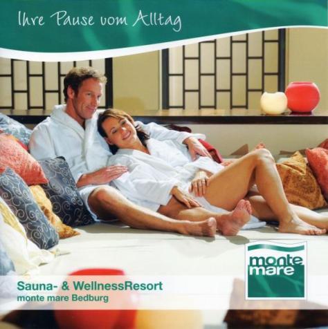 Kirstin in einer Werbung für MonteMare