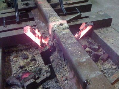 allTEC Engineering Services - Thermite Welding - thermite welding