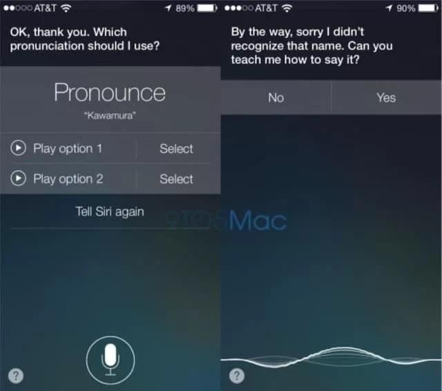 Teach Siri how to pronounce words