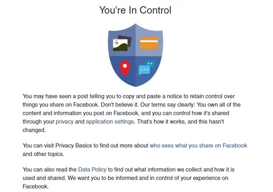 Status Updates About Facebook Privacy And Permission Notice Setting Are False (1)