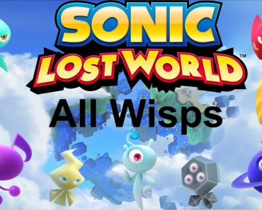sonic lost world - all that nerdy stuff