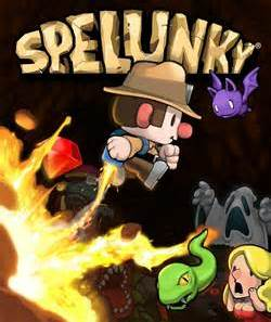 spelunky games - all that nerdy stuff