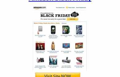 amazon black friday - all that nerdy stuff