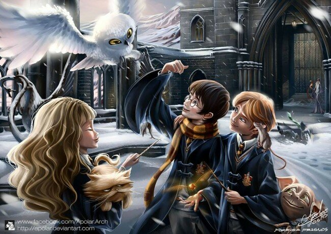 Thoughts Quotes Wallpaper 10 Magical Pieces Of Harry Potter Fan Art All That S