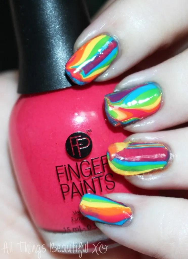 finger paints tie dye revolution