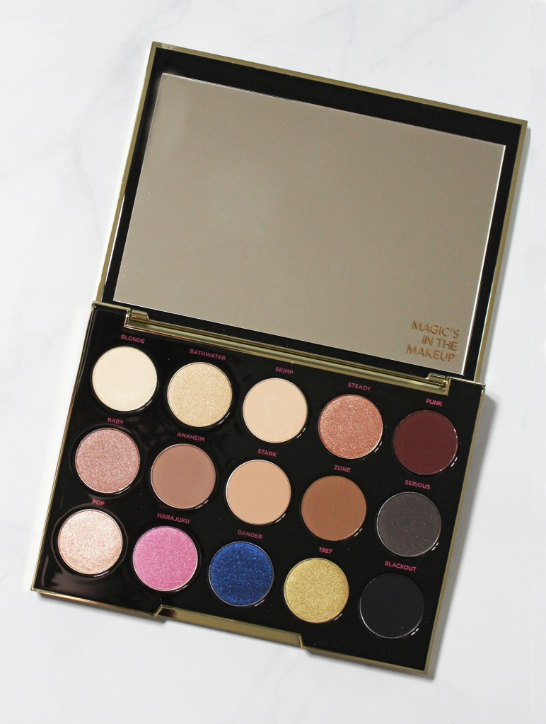 Urban Decay x Gwen Stefani Eyeshadow Palette Swatches ...