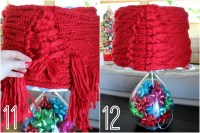 Easy, No-Sew DIY Lampshade Cover Using a Scarf - All ...