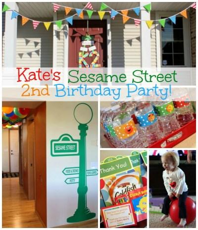Kate's Sesame Street Birthday Party | www.allthingsgd.com