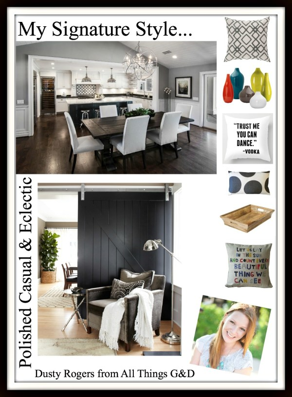 """Blogger Signature Style Series - Blogger Dusty Rogers from All Things G&D shares her """"Polished Casual & Eclectic"""" style! 